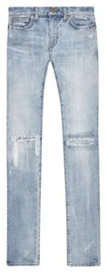 Saint Laurent Skinny Skinny Jeans-Light Wash