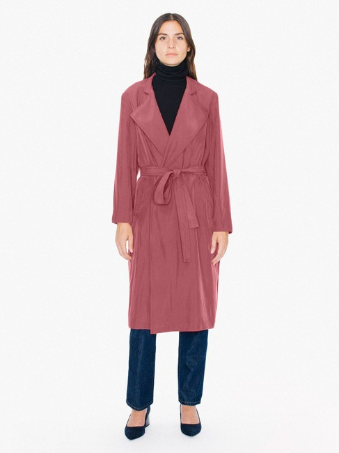 American Apparel Classic Trench Coat Image 1