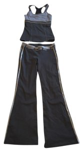PH8 SET Metallic Gray Belted Pants AND top