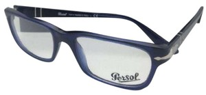 Persol New PERSOL Rx-able Eyeglasses 3096-V 181 53-18 145 Blue Transparent