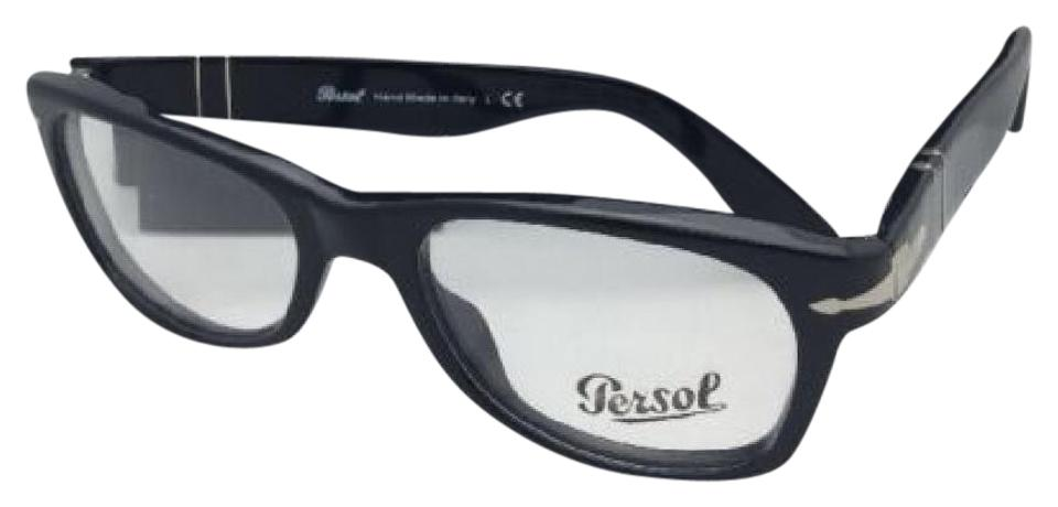 96f56b4ccc Persol New PERSOL Rx-able Eyeglasses 2975-V 95 51-18 140 Black ...