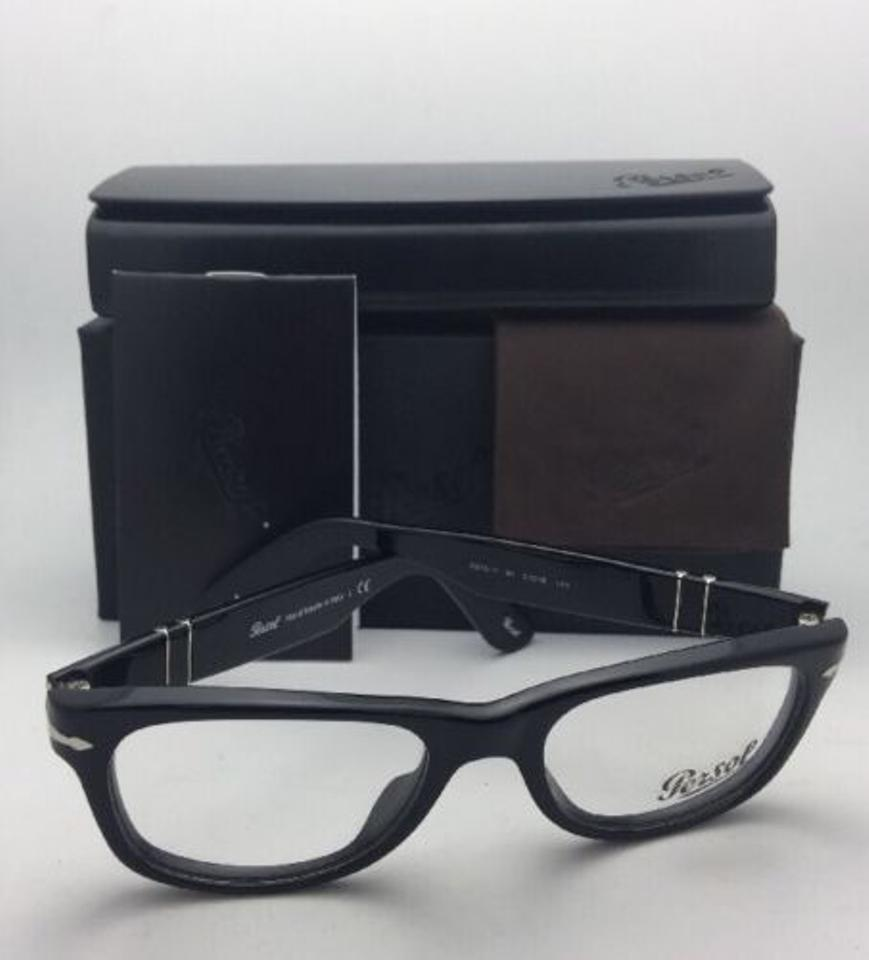 8eaaaec1a0 Persol New Rx-able 2975-v 95 51-18 140 Black Frame W  Clear W ...