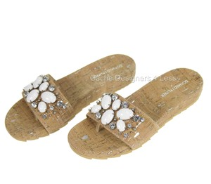 Donald J. Pliner Tan Sandals