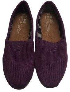 TOMS Plum Cord Athletic