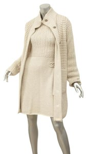 Chanel short dress Cream Outfit Sweater 09a on Tradesy