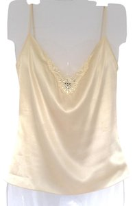 Club Monaco Top Pale Yellow
