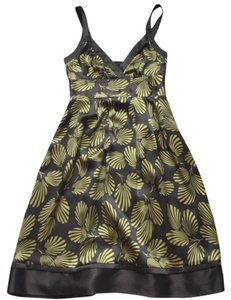 Ted Baker short dress gold grey on Tradesy