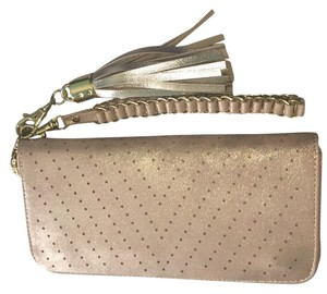 Mossimo Supply Co. Classic Shimmer Gold Wallet Wristlet