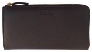 Gucci calf leather wallet with box