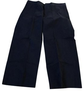 Giorgio Armani Wide Leg Pants blue