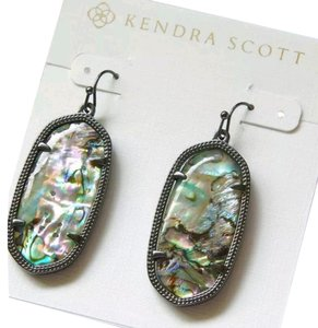 Kendra Scott Kendra scott abalone earrings