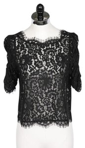 Joie Lace Top Black