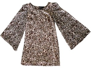 Fire short dress Leopard Print on Tradesy