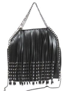 Stella McCartney Studded Fringe Hem Shoulder Bag