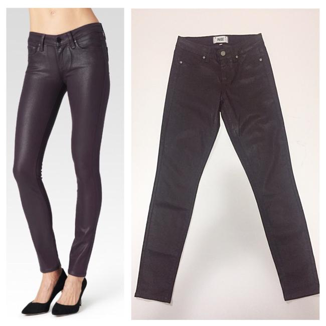 Item - Wine Coated Skinny Jeans Size 26 (2, XS)