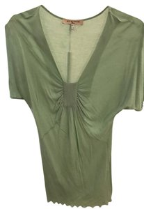 See by Chloé Chloe Rouched Tee T Shirt Sea-foam Green