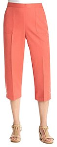 Alfred Dunner Capris coral