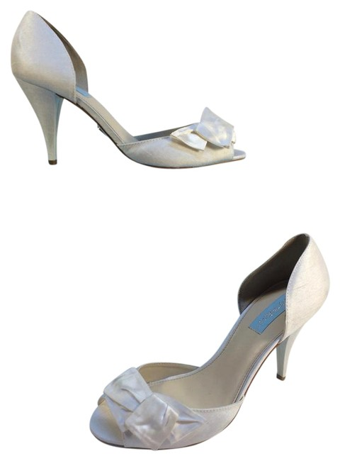 Item - Ivory Blue By Lily Open Toe Sandals Size US 9.5 Regular (M, B)