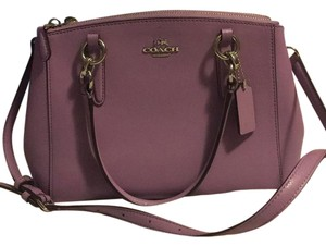 Coach Satchel in Lilac