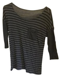 Calvin Klein Top Brown with black stripes