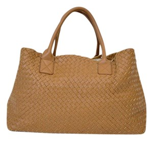 Other Woven Tote in camel