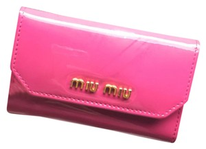 Miu Miu Miu Miu leather key holder