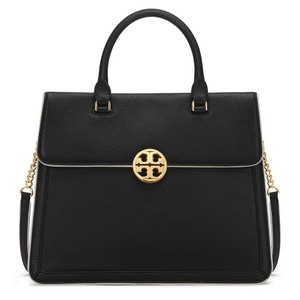 Tory Burch Satchel in Black and White