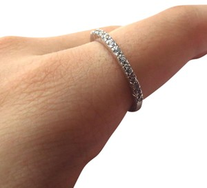 Elliot Francis SILVER PAVE BAND
