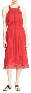 Brick Red Maxi Dress by Joie