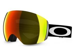 Oakley Oakley Snow Ski Goggles Flight Deck Snow Matte Bl/Fire Iridium 59-709