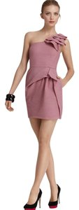 BCBGMAXAZRIA Ruffle One Formal Party Dress