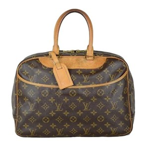Louis Vuitton Deauville Monogram Tote in Brown