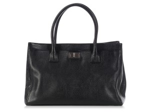 Chanel Ch.l0110.03 Leather Mademoiselle Tote