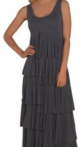 Heather Graphite Maxi Dress by Soft Surroundings