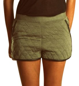 3.1 Phillip Lim Quilted Leather Mini/Short Shorts