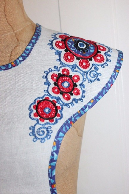 Other Embroidered Cottage Victorian Custom Made Floral Cape