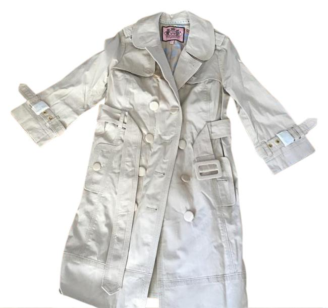 Preload https://img-static.tradesy.com/item/21121744/juicy-couture-beige-trench-coat-size-2-xs-0-1-650-650.jpg
