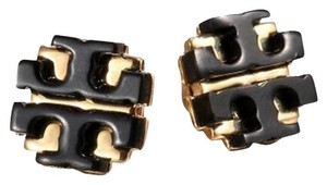 Tory Burch Tory burch Black Enamel Stud earrings