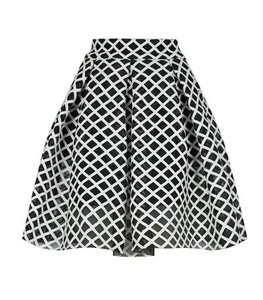 Maje And Skirt Black & White
