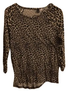 Divided by H&M Top Leopard print