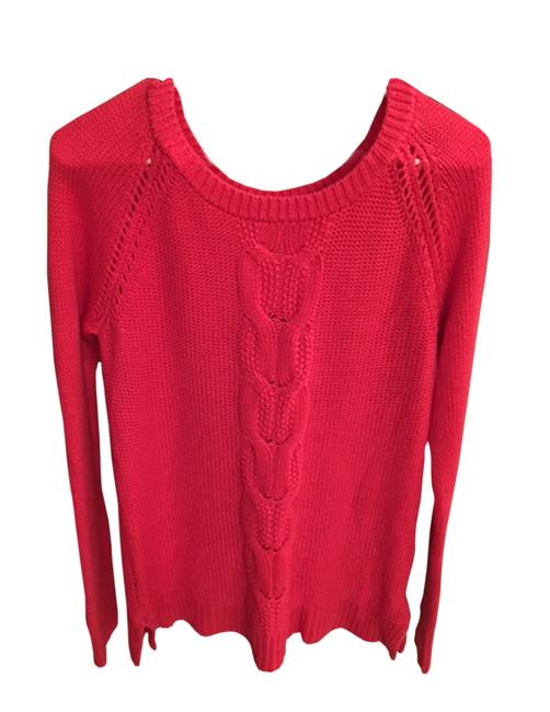 Lands' End Red Blue Green Yellow Sweater