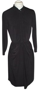 Vera Wang short dress Black Jersey Pencil on Tradesy