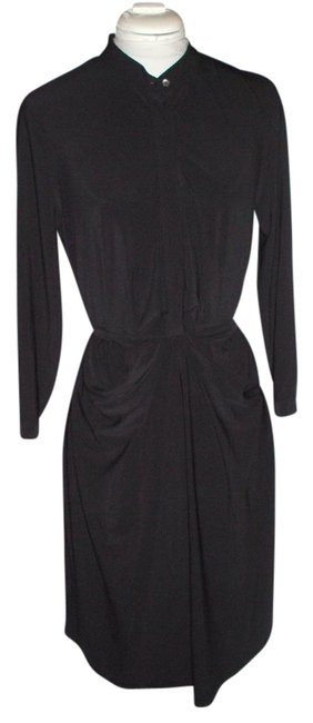 Preload https://img-static.tradesy.com/item/21122033/vera-wang-black-mid-length-short-casual-dress-size-12-l-0-1-650-650.jpg