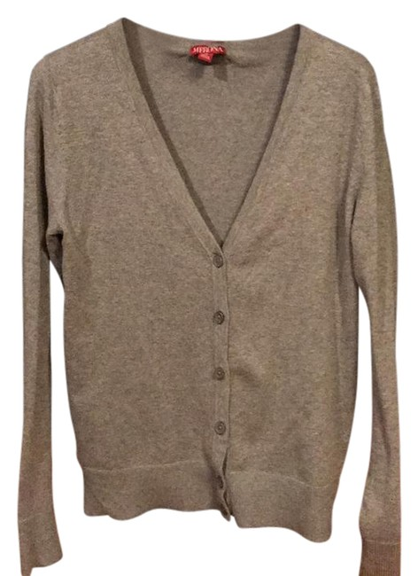 Preload https://img-static.tradesy.com/item/21122079/merona-favorite-cardigan-grey-sweater-0-1-650-650.jpg