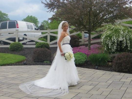 White Long Cathedral 120 Inches New Bridal Veil