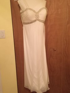 David's Bridal A-line Wedding Dress