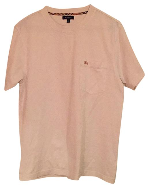 burberry london burberry tee t shirt white 75 off retail