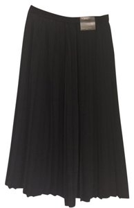 Banana Republic Below Knee Pleaded Elegant Comfortable Dress Up Or Dwon Skirt Black