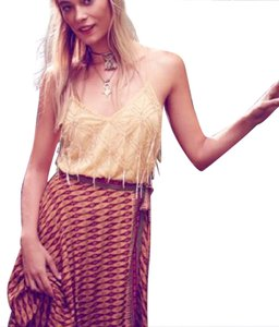 Free People Top Gold