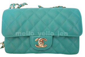 Chanel Leather Classic Cross Body Bag
